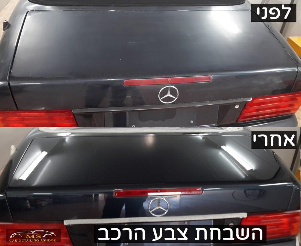 פוליש ווקס לרכב