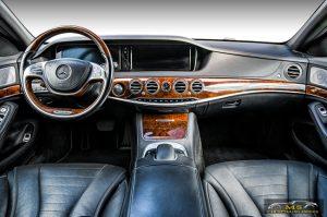 Car Detailing, דיטיילינג, נקיון פנימי, מרצדס S350